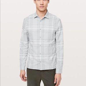 NWT Lululemon Mason's Peak Flannel $118-Size M